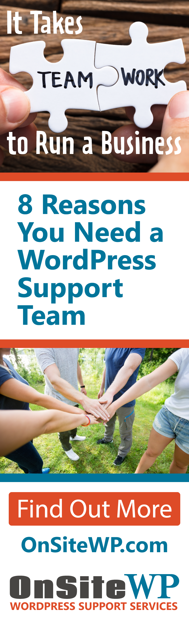 8 Reasons you Need a WordPress Support Team