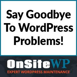 OnsiteWP WordPress maintenance